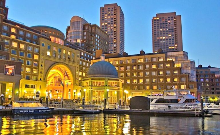Boston Harbor Hotel at Rowes Wharf Image