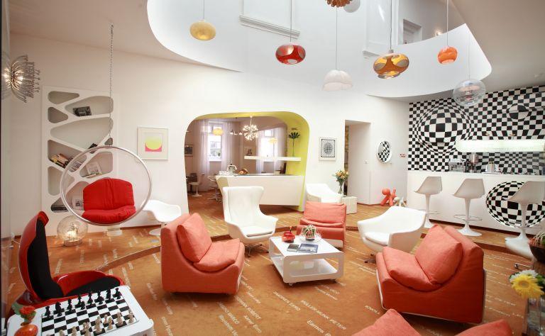 Vintage Design Hotel Sax Image