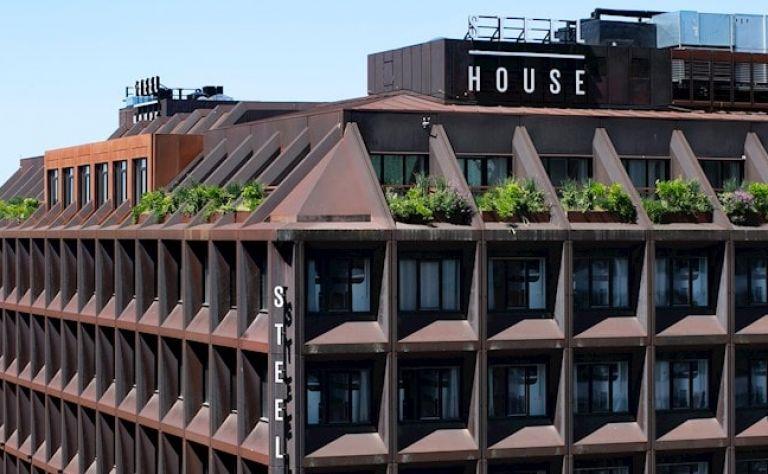 Steel House Copenhagen Image